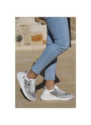 U.S. Polo Assn. U.S. Polo Assn. Catchy Günlük Kadın Spor Ayakkabı Beyaz